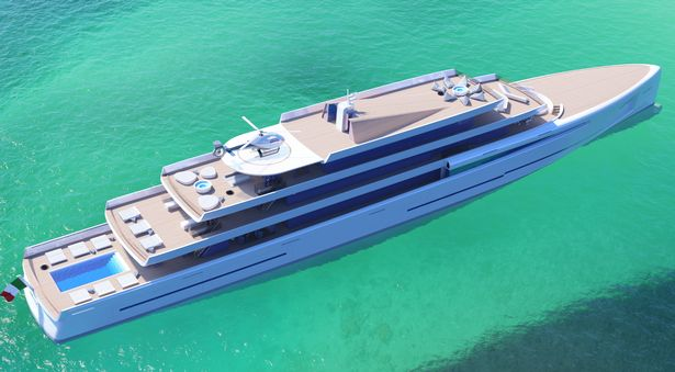 mirage invisible yacht